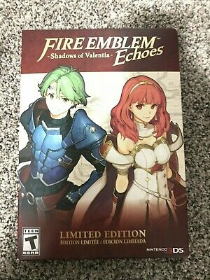 Brand New! Fire Emblem Echoes: Shadows of Valentia Limited Edition Nintendo 3DS