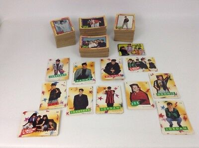 New Kids on the Block Trading Cards 388 Cards w 35 Stickers Huge Lot 1989 Topps