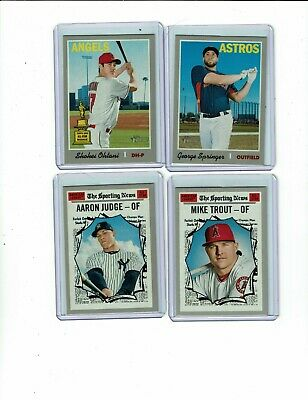 2019 Topps Heritage Short Prints, Sp, Trout, Judge, Ohtani, Albies, You Pick
