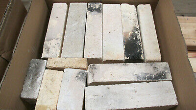26 pound  Box of random KILN bricks soft insulation bricks all wedge shaped used