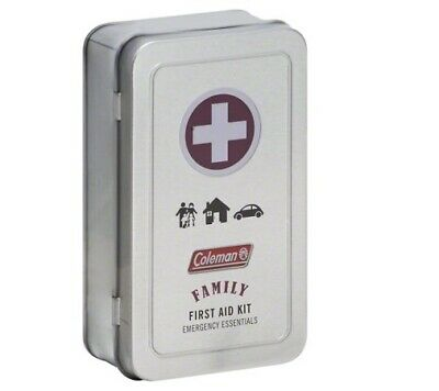 Coleman 82 Piece Family First Aid Kit - For Camping, Travel Sports Bag Kits