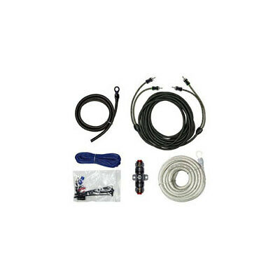 Raptor R3ak4 600w 4 Awg Amp Kit With Rca Cable Vice Series