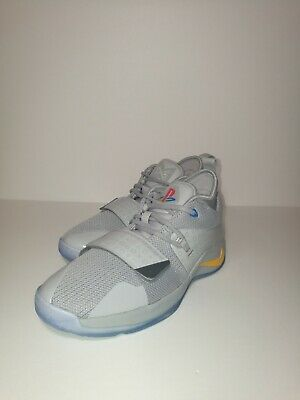 638e1e7be817 Nike PG 2.5 Playstation Paul George 2.5 GS Wolf Grey PS4 BQ9677-001 Size 7Y
