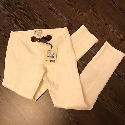 NWT Massimo Dutti Trousers 9-10 years white color