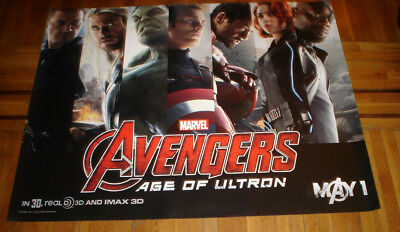 Avengers Age of Ultron 5FT SUBWAY MOVIE POSTER MARVEL 2015 CAPTAIN AMERICA THOR