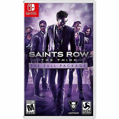 Saints Row : The Third 3 - The Full Package For Nintendo Switch NS (English Sub)