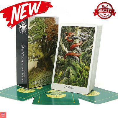 English Version Nature 78 Tarot Cards Deck Full Animal Playing Board Game