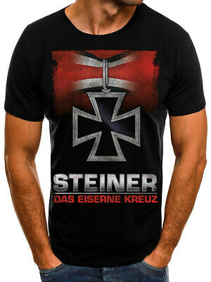 Skull Scull War Cross War alte Geister Shirt T-Shirt Deutschland Shirt Kreuz