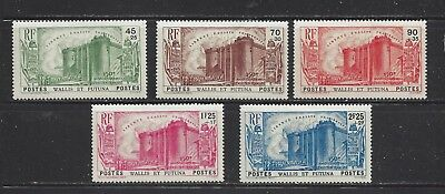 Wallis And Futuna Isl - B1 - B5 - Mh - 1939 - 150Th Ann Of French Revolution