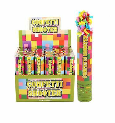 20cm Giant Confetti Shooter Jazzy Party Wedding Poppers Compressed Air Cannon