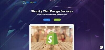 Premium Shopify eCommerce Site Reseller Business - High Turnover & Profit