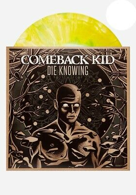 Comeback Kid - Die Knowing // Vinyl LP limited to 150 on White Yellow & Green St