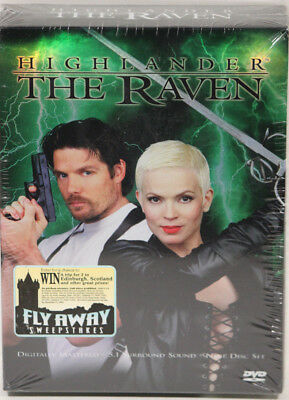 Highlander The Raven Complete Series All 22 Episodes 9 DVD Collector''s Set