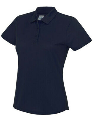 AWDis JC045 Girlie Cool Polo T-Shirt Ladies Performance Top French Navy