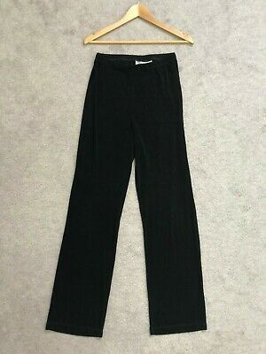 TRAVELERS by CHICO'S Black Pants Pull-on Elastic Slinky Stretch sz 1 Medium