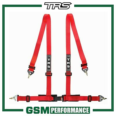 Trs 4 Point Clubman Harness Belt - Red