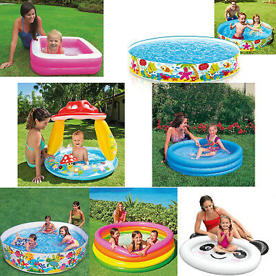 Baby Toddler Paddling Pool Child Inflatable Kids infants Summer Fun Garden