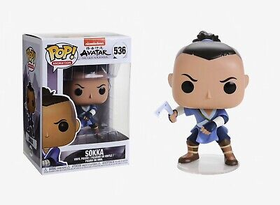 Funko Pop Animation: Avatar the last Airbender - Sokka Vinyl Figure Item #36465