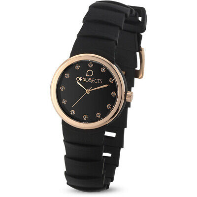 Orologio solo tempo donna Ops Objects Roma OPSPW-561 nero