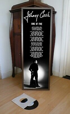 Johnny Cash Ring Of Fire Promotional Poster Lyric Sheet,Ring Of Fire,Country