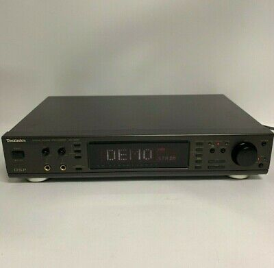 Technics SH-GE90 Digital Sound Processor 120V Made In Japan Karaoke Stereo