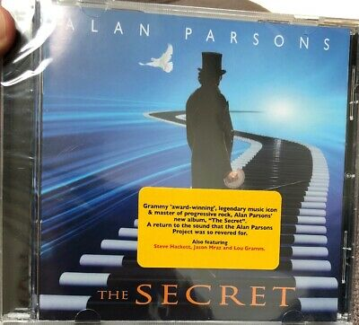 The Secret by Alan Parsons Audio CD FRONTIERS Pink Floyd NEW Yes