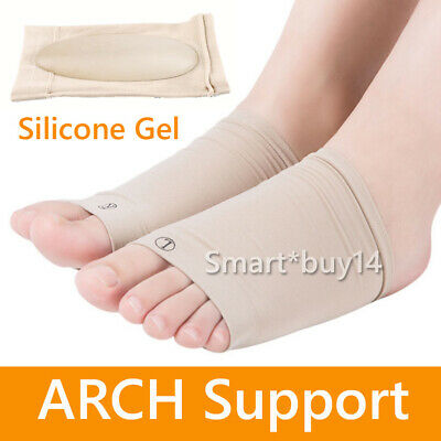ARCH Support Shoe GEL Insole Flat Feet Pad PAIN RELIEF Plantar Fasciitis Foot K