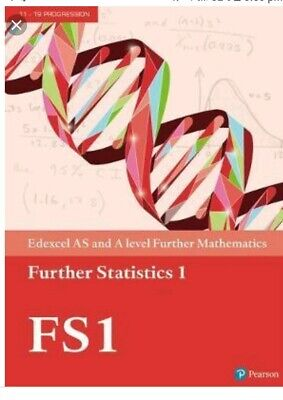Edexcel AS & A level Further Mathematics Further Statistics 1 (PDF Version Only)