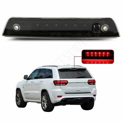 Black Smoke LED 3RD Third Brake Light Tail Lamp for 05-2010 Jeep Grand Cherokee