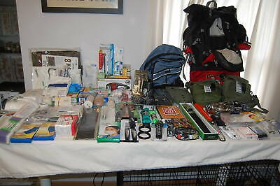 Huge 2 Person Survival & Trauma Kit Bug Out Bag Dare To Compare & Be Prepared