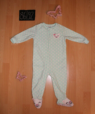 c1cc22b6ff Schlafanzug Einteiler Child of Mine by Carter's 86/92 Bär warm Winter Fleece