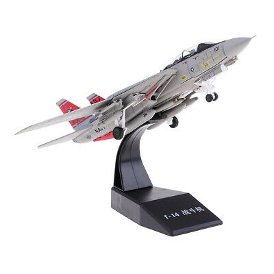 1: 100 American F-14 Airplane Aircraft Plane Model Toy Diecast Fighter