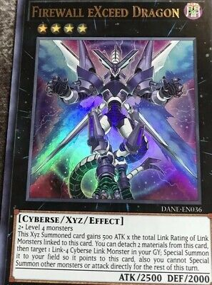 FIREWALL EXCEED DRAGON | Ultra Rare | DANE-EN036 Dark Neostorm YuGiOh