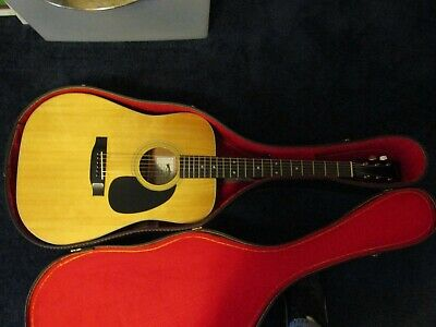 Sigma Guitars by C. F. Martin & Co. DM-4 Acoustic Guitar with Old School Case