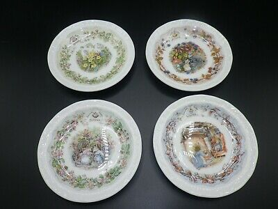 Royal Doulton Brambley Hedge 4 Seasons Mini Plates