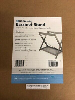 New UPPAbaby Bassinet Stand, Grey