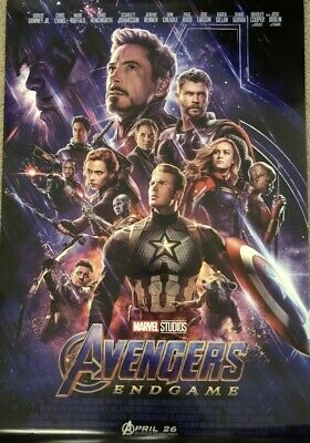 AVENGERS: ENDGAME 27x40 Official Theatrical DS One-Sheet Poster Disney - MARVEL