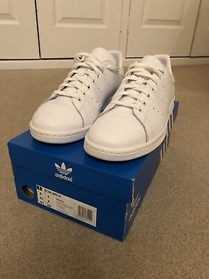 new concept 5aed2 fb85e Adidas Stan Smith In All White. Size 9