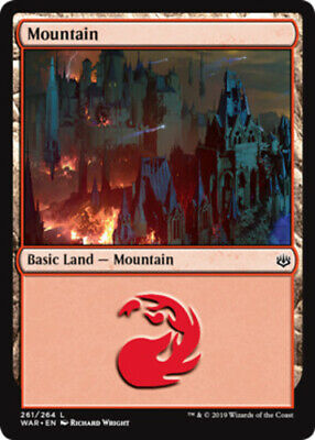 MTG War of the Spark L M//NM 254 x4 Island English