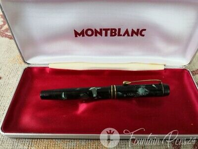 MONTBLANC 324 SimPlo Green Marbled D.R.P. 544477 Fountain Pen VINTAGE