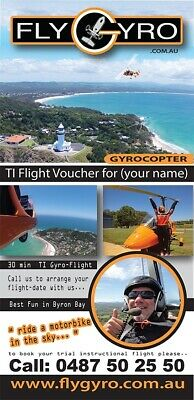 Gift Card Voucher 1h Gyrocopter TI Flight