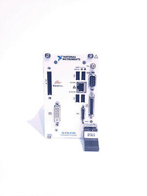 National Instruments NI PXI-8105 Dual-Core Embedded Controller for PXI