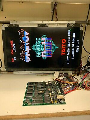 ARKANOID REVENGE OF doh arcade pcb tested working - $108 29   PicClick