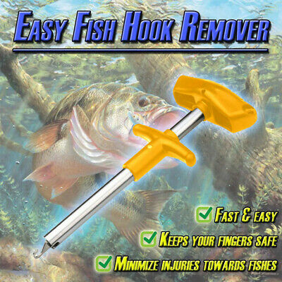 Easy Fish Hook Remover New Fishing Tool Minimizing The Injuries Tools TackleBait