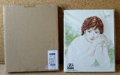 Japan CITY HUNTER 30th KAORI CANVAS ART f3 tsukasa hojo manga anime nicky larson