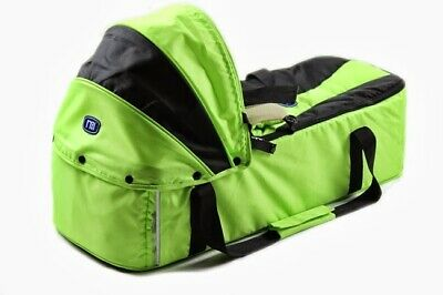 New Mothercare Baby Carry Cot Newborn Portable Soft Canopy Sleeping Bed Carrier