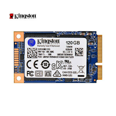 Kingston 120GB mSATA SSD SUV500MS/120G Solid State Drive Hard Disk 3D NAND O3T0