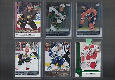 Ethan Bear 2018-19 Ud Young Guns Series 2 Clear Cut Acetate Yg Rookie Rc Oilers