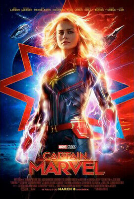 Marvel Studios' Captain Marvel Payoff Theatrical Poster