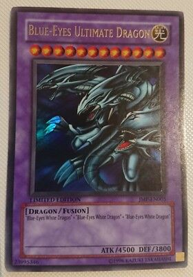 Yugioh Blue-Eyes Ultimate Dragon Ultra Rare Limited Edition Near Mint Jmp-En005
